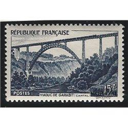 1952 France  Sc# 683  * MH Nice. Garabit Viaduct (Scott)  Tourism