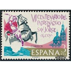 1976 Spanien 2208 San Jorge Religiös ** Perfekter Zustand  (Michel)