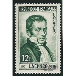 1952 France  Sc# 685  * MH Nice. René Laennec (Scott)  Personalities