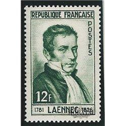 1952 France  Sc# 685  * MH Nice. René Laennec (Scott)  Personalities