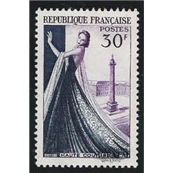 1953 France  Sc# 687  * MH Nice. Dressmaking Industry (Scott)