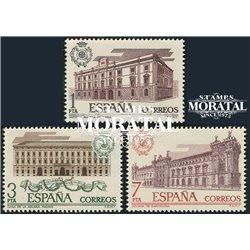 1976 Spanien 2219/2221  Zoll Amtlichen Stellen ** Perfekter Zustand  (Michel)