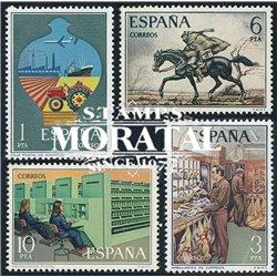 1976 Spanien 2222/2225  Bereitstellen Philatelie ** Perfekter Zustand  (Michel)
