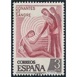 1976 Spanien 2248 Don. Blut Wohltätigkeit ** Perfekter Zustand  (Michel)