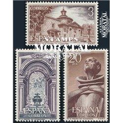 1976 Spanien 2268/2270  Alcantara Kloster-Tourismus ** Perfekter Zustand  (Michel)