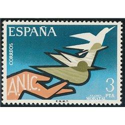1976 Spanien 2271 Ungültig Wohltätigkeit ** Perfekter Zustand  (Michel)