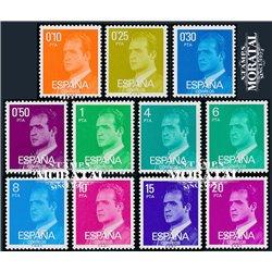 1977 Spanien 2279/2309  Grundlegende. Juan Carlos ich Serie Gene ** Perfekter Zustand  (Michel)