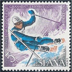 1977 Espagne 2047 Ski Sportif **MNH TTB Très Beau  (Yvert&Tellier)
