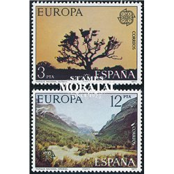1977 Spain 2041/2042  Europe Europe **MNH Very Nice  (Scott)