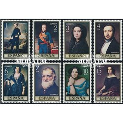 1977 Spain  Sc 2057/2064 Madrazo Painting **MNH Very Nice, Mint Hever Hinged?  (Scott)