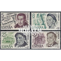 1978 Spain  Sc 2083/2086 Personalities Personalities **MNH Very Nice, Mint Hever Hinged?  (Scott)