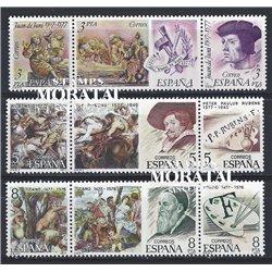 1978 Espagne 2105/2113  Centenaires (brochures) Peinture **MNH TTB Très Beau  (Yvert&Tellier)