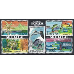 1978 Spain 2096/2100  Nature protection Fauna **MNH Very Nice  (Scott)