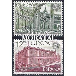1978 Espagne 2119/2120  L'Europe Europe **MNH TTB Très Beau  (Yvert&Tellier)