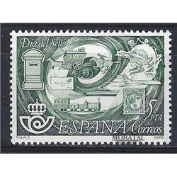 1978 Espagne 2126 Journée du timbre Philatélie **MNH TTB Très Beau  (Yvert&Tellier)