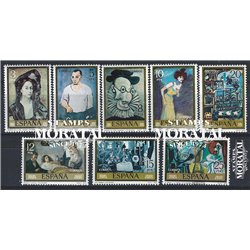 1978 Spain  Sc 2108/2115 Picasso Painting **MNH Very Nice, Mint Hever Hinged?  (Scott)