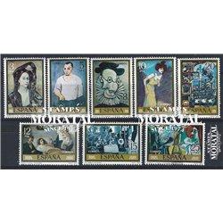 1978 Espagne 2127/2134  Picasso Peinture **MNH TTB Très Beau  (Yvert&Tellier)