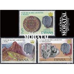 1978 Espagne 2149/2151  Troisième voyage rois Rois **MNH TTB Très Beau  (Yvert&Tellier)