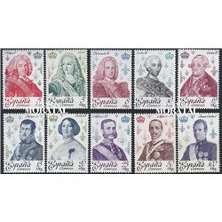 1978 Spain 2123/2132  Bourbon Kings Kings **MNH Very Nice  (Scott)