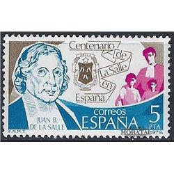1979 Espagne 2157 La salle  **MNH TTB Très Beau  (Yvert&Tellier)
