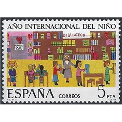 1979 Spanien 2411 Jahrgang Kind Jubiläen ** Perfekter Zustand  (Michel)