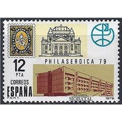 1979 Spanien 2416 Philaserdica 79 Ausstellung ** Perfekter Zustand  (Michel)