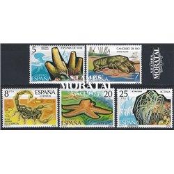 1979 Spanien 2423/2427  Fauna VII Fauna ** Perfekter Zustand  (Michel)