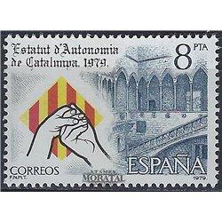 1979 Spanien 2438 Catalonia Amtlichen Stellen ** Perfekter Zustand  (Michel)