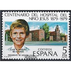 1979 Spanien 2440 Krankenhaus Niño Jesús Madizin ** Perfekter Zustand  (Michel)