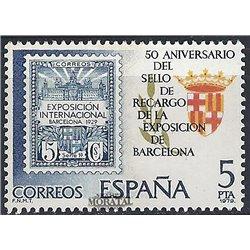 1979 Spanien 2441 Expo-Barna Ausstellung ** Perfekter Zustand  (Michel)