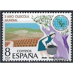 1979 Espagne 2203 Huile d'olive  **MNH TTB Très Beau  (Yvert&Tellier)