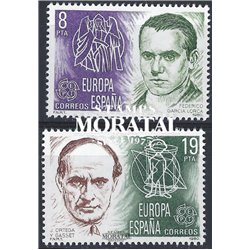 1980 Espagne 2214/2215  L'Europe Europe **MNH TTB Très Beau  (Yvert&Tellier)