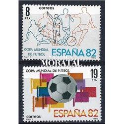 1980 Espagne 2217/2218  Espagne ' 82 Sportif **MNH TTB Très Beau  (Yvert&Tellier)