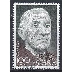 1980 Espagne 2224 Perez Ayala  **MNH TTB Très Beau  (Yvert&Tellier)