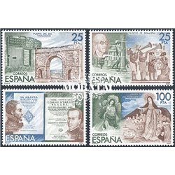 1980 Espagne 0 Espamer 80 Exposition **MNH TTB Très Beau  (Yvert&Tellier)