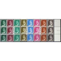 1978-84 Espagne 0 De base. Juan Carlos I-brochures-1er présentation générale Série Générale **MNH TTB Très Beau  (Yvert&Tellier)