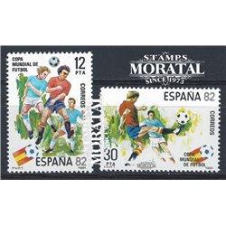 1981 Spanien 2496/2497  Spanien ' 82 Sport ** Perfekter Zustand  (Michel)