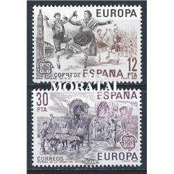 1981 Espagne 2243/2244  L'Europe Europe **MNH TTB Très Beau  (Yvert&Tellier)