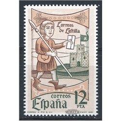 1981 Spanien 2504 Tag der Briefmarke Philatelie ** Perfekter Zustand  (Michel)