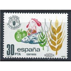 1981 Spanien 2512 Macht  ** Perfekter Zustand  (Michel)