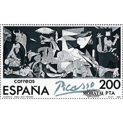 1981 Espagne 0 Picasso-Guernica Peinture **MNH TTB Très Beau  (Yvert&Tellier)