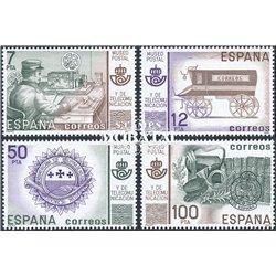 1981 Espagne 0 Musée de la poste Philatélie **MNH TTB Très Beau  (Yvert&Tellier)
