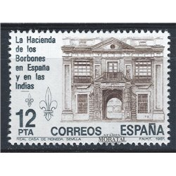 1981 Espagne 2270 Hacienda  **MNH TTB Très Beau  (Yvert&Tellier)