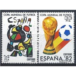 1982 Espagne 2272/2273  Espagne ' 82 Sportif **MNH TTB Très Beau  (Yvert&Tellier)