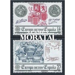 1982 Espagne 2285/2286  L'Europe Europe **MNH TTB Très Beau  (Yvert&Tellier)