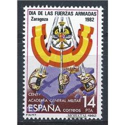 1982 Spanien 2547 Streitkräfte Militär ** Perfekter Zustand  (Michel)