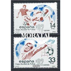 1982 Spanien 2548/2549  Spanien ' 82 Sport ** Perfekter Zustand  (Michel)