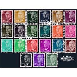 1955 Spain 815/835  General Franco Generic Series **MNH Very Nice  (Scott)