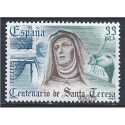 1982 Espagne 2296 Santa Teresa Religieux **MNH TTB Très Beau  (Yvert&Tellier)