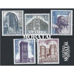 1982 Espagne 2298/2302  Paysages II Tourisme **MNH TTB Très Beau  (Yvert&Tellier)